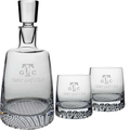 FINLAND DECANTER & 2 DOF (ALL ETCH)