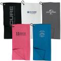 MICROFIBRE WAFFLE GOLF TOWEL - Embroidered