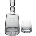 FINLAND DECANTER (ETCHED) & 2 DOF