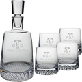 FINLAND DECANTER & 4 DOF (ALL ETCH)