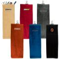 POUCH GOLF TOWEL-Embroidered