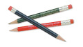 GOLF PENCILS - PLAIN WOOD WITH ERASER