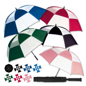 "MACH 1 VENTED GOLF UMBRELLA 66"" - Plain"